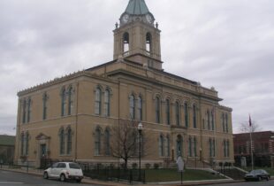A photo of the Robertson, TN Courthouse - Partner County of Fort Campbell Defense Alliance